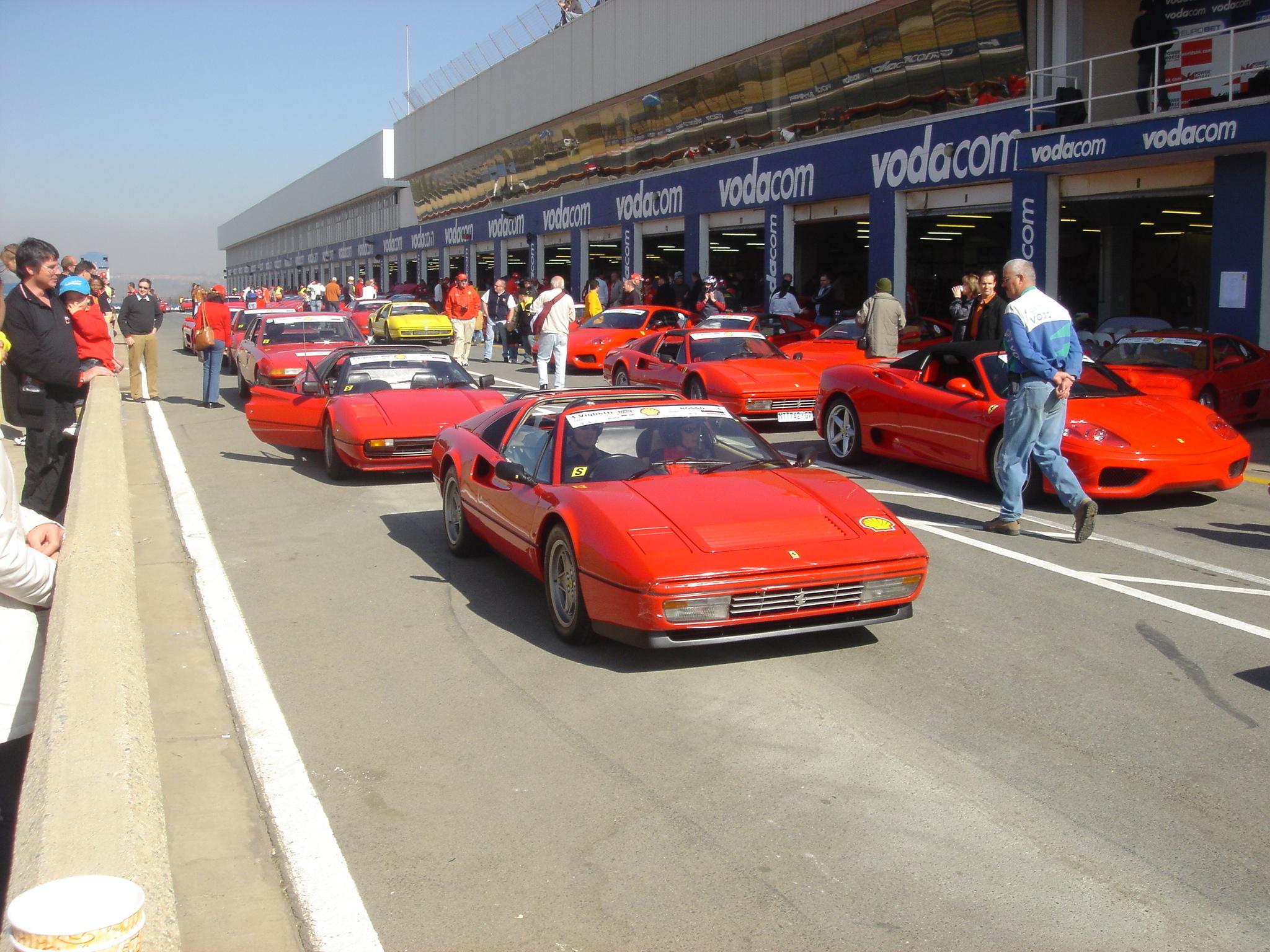 Ferrari Day Kyalami
